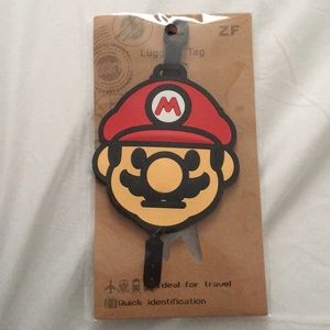 Accessories - Mario luggage tag